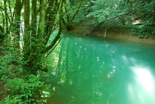Reka Temenica pri Luknji